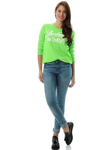 T-Box Sweatshirt Yeşil
